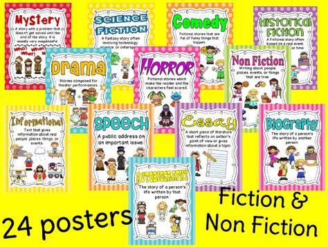 printable drama genre poster ginger snaps genre posters and bingo