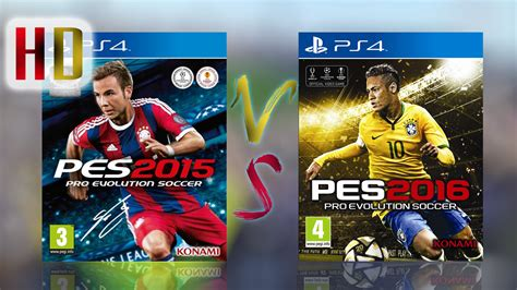 Pes 2016 Ps4 by Pes 2015 Vs Pes 2016 Gameplay Ps4 Makdad Gamez