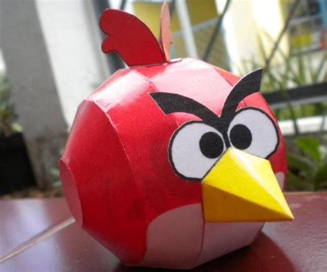 Angry Birds Paper Crafts Gadgetsin by Angry Birds Papercraft Image Search Results