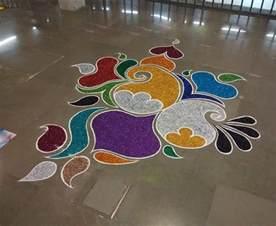 top 9 floor rangoli designs styles at