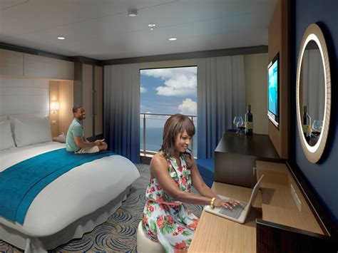 royal caribbean balcony room royal caribbean puts 80 inch hd displays to create balconies for cruise ship rooms