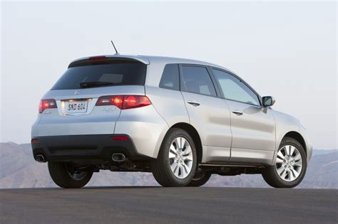 2012 Acura Rdx by 2012 Acura Rdx In Palladium Metallic Color Static Rear
