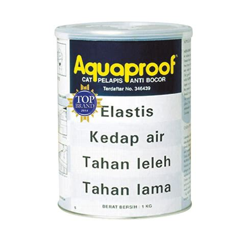 Cat Pelapis Anti Air Jual Aquaproof Cat Pelapis Anti Bocor Terakota 1kg