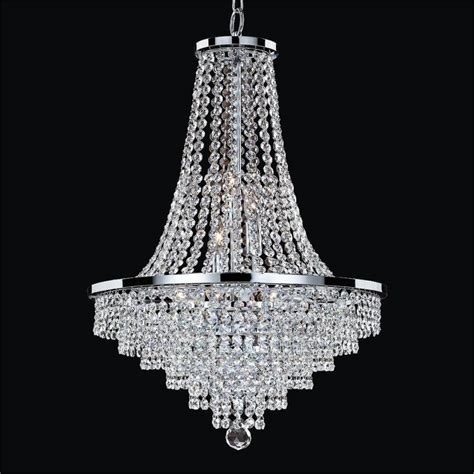 Crystal Empire Chandelier Vista 628a Glow Lighting Chandeliers