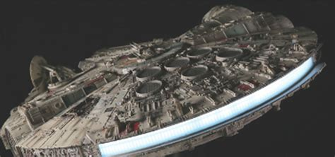 millennium star star wars millennium falcon 1 1 model full kit