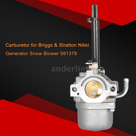 nikki carburetor briggs ebay carburetor carb for briggs stratton nikki snowblower