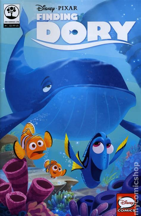 Disney Pixar Finding Dory disney pixar finding dory 2016 comic books