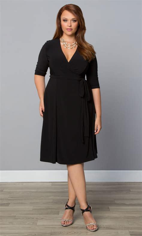 size dresses kiyonna  size wrap dresses