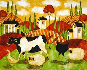 american folk art paintings