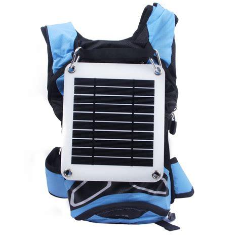Solar Charger Pack Slim 5w Cocok Untuk Power Bankhp Gps Psp solar charger pack slim 5w