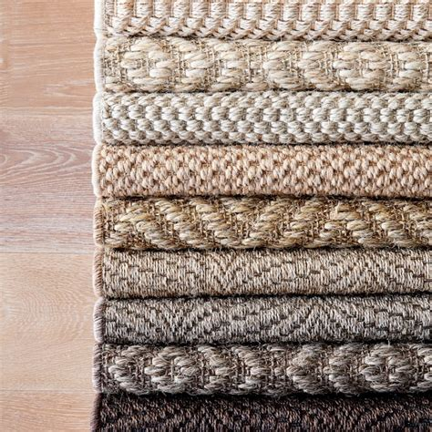 sisal rugs customizable sisal rug halite williams sonoma