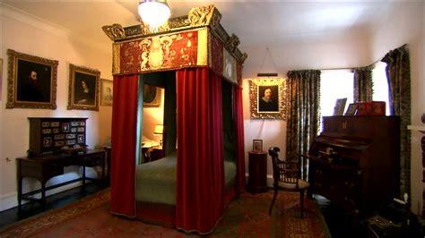 glamis castle indoor shot scotland hd stock video