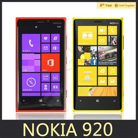 Bantal Mobil Set 8 Bordir Big Black Blue nokia lumia 920 original unlocked mobile phone 8 7mp gps os dual 4 5 quot inch 32gb rom nfc 4g