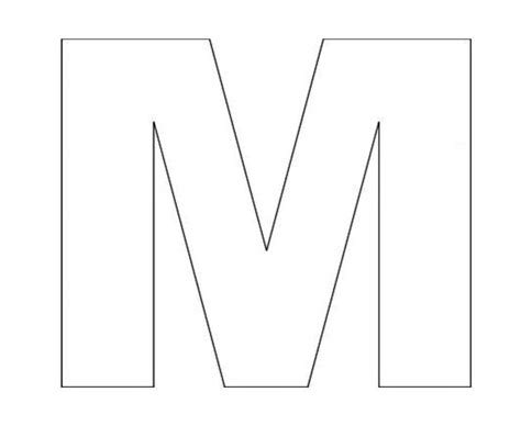 letter m template 10 best nick s special letter m images on