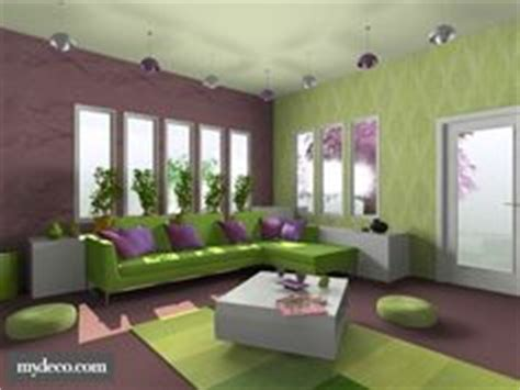 Purple And Green Living Room by 1000 Images About Interior Purple Green On
