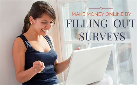 Earn Money Answering Surveys - make money online by filling out simple surveys money making tips guides