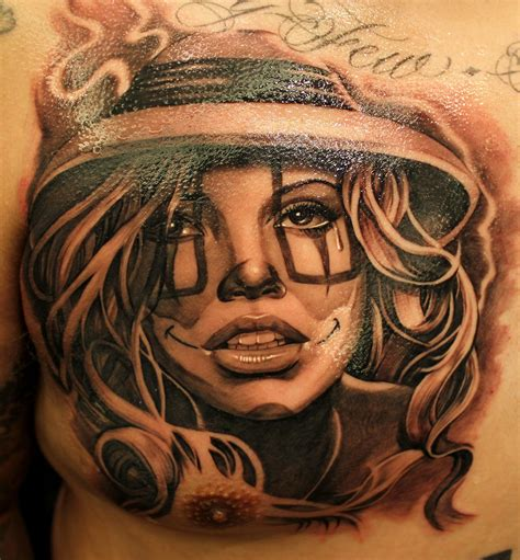 chicana tattoos chicano style our tribute