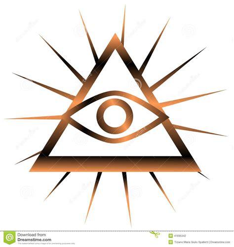 seeing eye all seeing eye stock illustration image 41695342