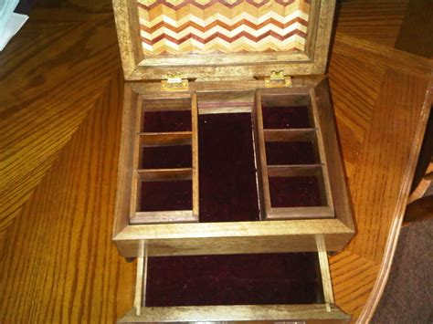 Handmade Jewelry Box Plans - handmade wooden jewelry boxes plans plans free