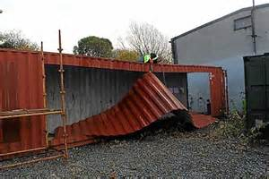 how to build a shipping container home ireland s shipping container home built in 3 days