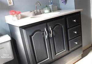 bathroom vanity makeover ideas things you didn t you can paint by decor adventures