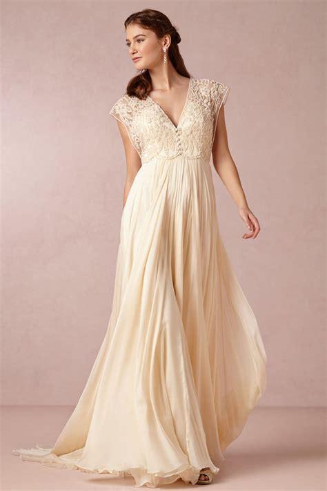 Brautkleider Beige by Robe De Mari 233 E Grande Taille Boh 232 Me Empire Persun Fr