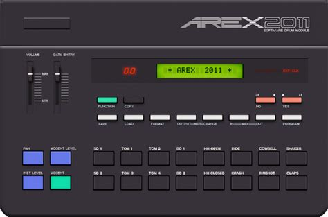 drum pattern vst free drum machine for windows arex 2011 synthtopia