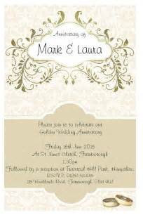 25 best ideas about anniversary invitations on anniversary invitations