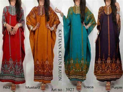Gamis Maxi Ibu Dan Anak Muslim Dress Katun Busui Limited 2 busana kaftan etnik jeanny model baju gamis batik katun