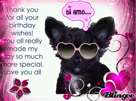 Thank You Happy Birthday Wishes Thank You Birthday Wishes Picture 108997796 Blingee Com