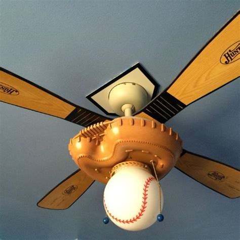 sports themed ceiling fans find more baseball softball themed ceiling fan with light