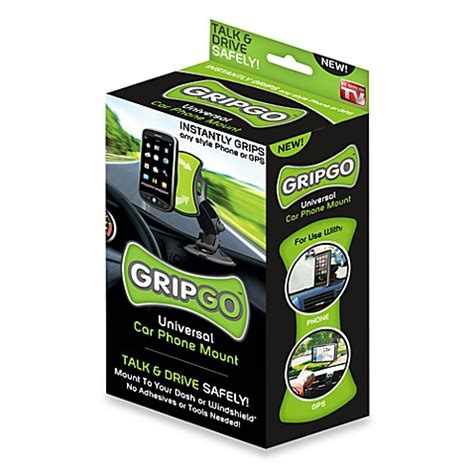 bed bath and beyond as seen on tv as seen on tv gripgo universal car phone mount bed bath
