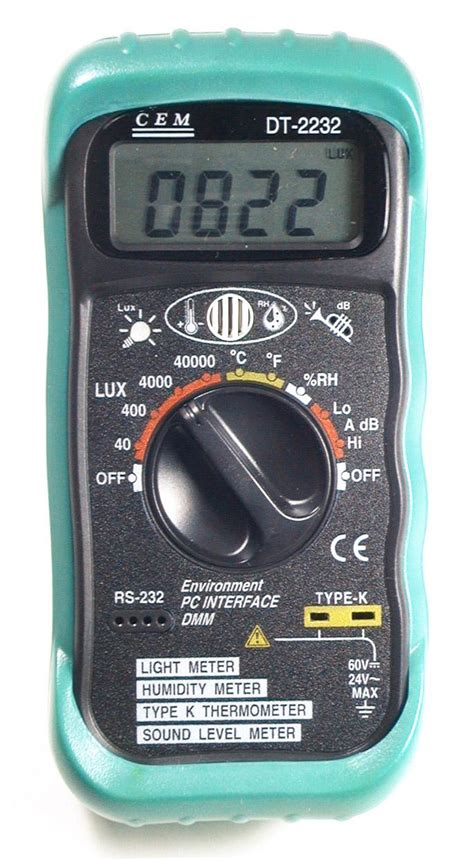 Jual Sound Level Meter Cem 4 In 1 Multi Function Environment Meter 1 cem dt 2232 digital thermometer light humidity sound meter