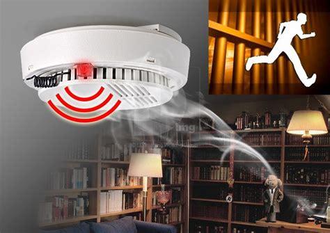 Alarm Kebakaran detektor kebakaran desain wireless disertai alarm