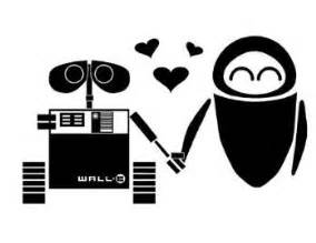 Wall E Sticker Wall E And Eve Lovewalle Eve Macbook Decals Things