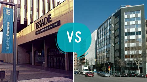 Esade Business School Spain Mba by Esade Business School Vs Eada Business School