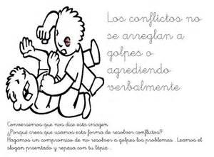 imagenes para colorear sobre violencia de genero fichas infantiles mensaje no violencia para infantil
