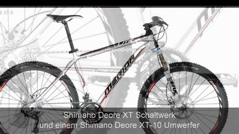 merida matts xt mountainbike merida matts lite xt d schwarz weiss shimano