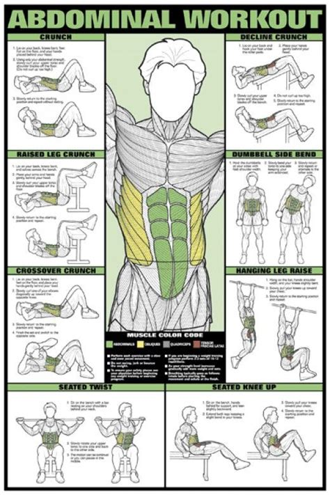 how to fitness books worth reading workout posters abdominal exercises workouts