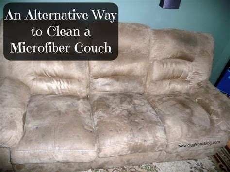 best way to clean microsuede couch an alternative way to clean a microfiber couch gigglebox