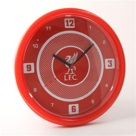 liverpool fc bullseye wall clock ebay