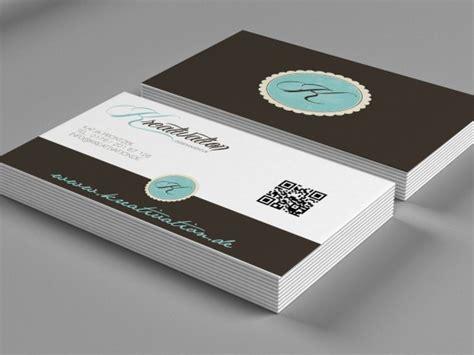 Visitenkarten Mit Qr Code Drucken by Visitenkarten Mit Qr Code Gestalten 187 Saxoprint