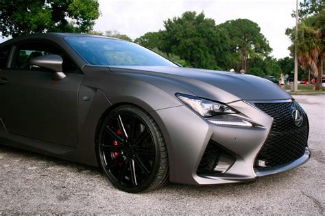 lexus rcf matte black lexus rcf auction autos post