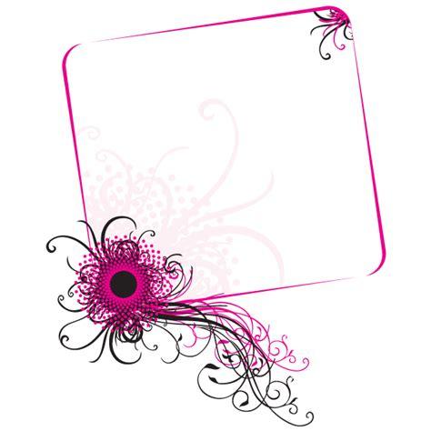 frame design in vector floral frame vector design 123freevectors