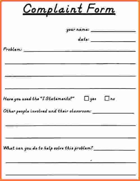 sle employee complaint form image titled write a
