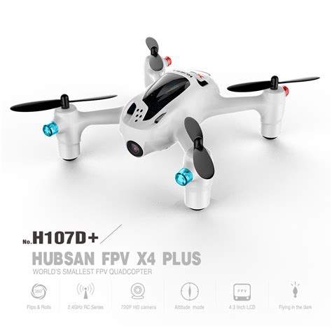 Drone Hubsan X4 Plus the 2015 hubsan x4 plus and h109 brushless pricing