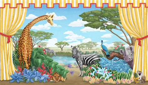 affordable wall murals nursery wall murals south africa affordable ambience decor