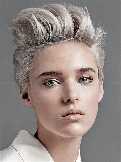 funky hairstyles for 2015 and age 40 short hairstyles 2015 women faux hawk short funky