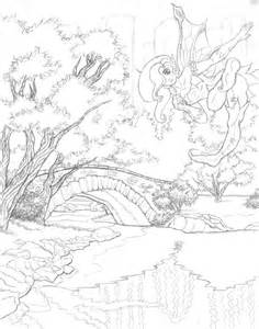 scenic coloring pages scenery puppy colouring pages coloring pages