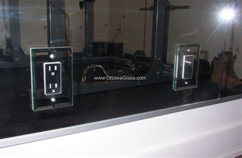 bathroom mirror with electrical outlet bathroom mirror with electrical outlet receptacle in